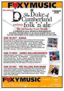 What's On – The Duke of Cumberland