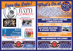 What's On – Widcombe Social Club