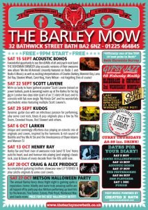 What's On – Barley Mow